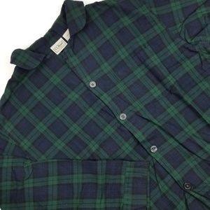 L.L. Bean Shirts - L. L. Bean Flannel Pajama Top Shirt Size Large Sz